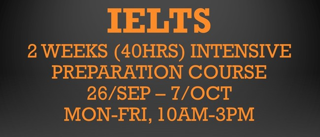 IELTS Intensive Preparation Course