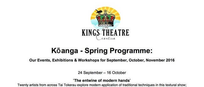 Kings Theatre Creative Spring Programme