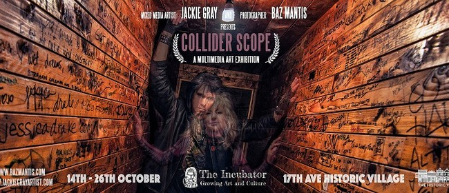 Collider Scope - A Mixed Media Art Experience