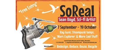 SoReal Exhibition - Sean Boyd Sci-Fi Artist
