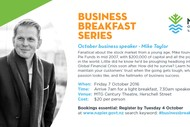 Business Breakfast Series - Mike Taylor