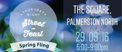 Thursday Night Street Feast - Spring Fling