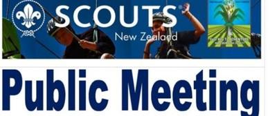 Public Meeting - Scouts Jamboree