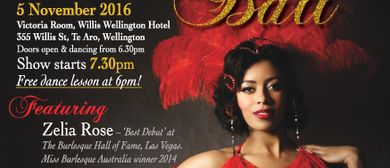 The Burlesque Masquerade Ball 2016