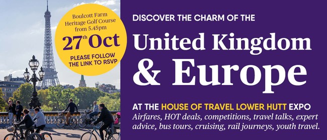 House of Travel Lower Hutt UK & Europe Boutique Travel Expo