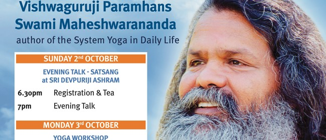 Yoga for the Body & Beyond - Special Event With Vishwaguruji