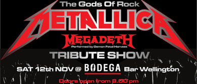 The Gods of rock Metallica & Megadeth Tribute show