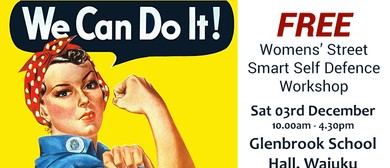 Women's Street Smart Free Self Defence Workshop