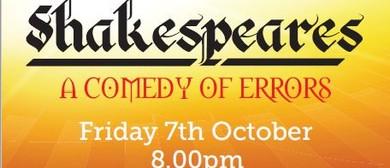 Shakespeare's Comedy of Errors - Fundraiser