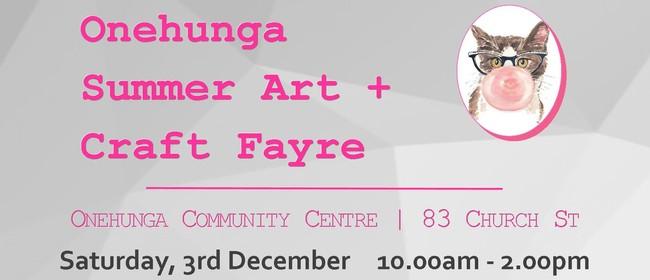 Onehunga Summer Art + Craft Fayre
