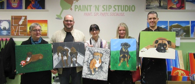 Paint Your Pet Night (From a Photo)