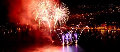 Sky Show Fireworks 2016