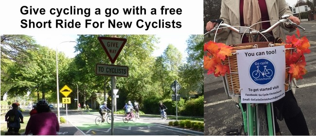 Short Ride For New Cyclists - Go Cycle Christchurch