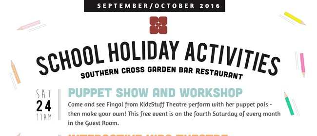 School Holiday Puppet Show and Workshop