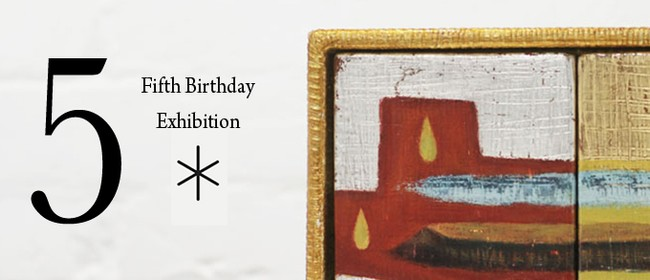 Black Asterisk Fifth Birthday Exhibition