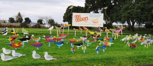 The Flock NZ Art Installation