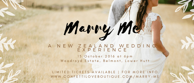 Marry Me a New Zealand Wedding Experience