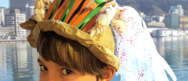 Te Papa School Holiday Event - Create an Outrageous Hat