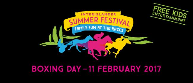 Interislander Summer Festival Stratford Races