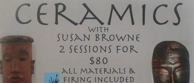 Ceramics Workshop With Susan Browne