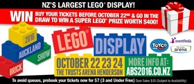 The 2016 Auckland Brick Show – NZ's Largest LEGO® Display