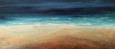 Under a Big Sky Art Exhibition by Liz Turnbull