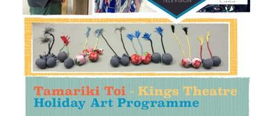 Tamariki Toi Holiday Art Programme