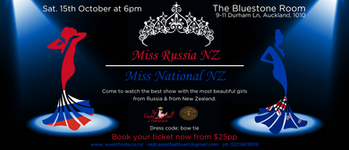 Miss Russia NZ and Miss National NZ
