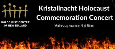 Kristallnacht Holocaust Commemoration Concert