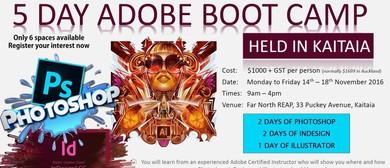 5 Day Adobe Boot Camp