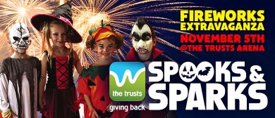 The Trusts Spooks and Sparks Fireworks Extravaganza 2016