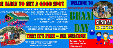 South Africa NZ Live Radio Braai Day