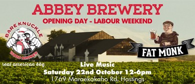 Abbey Brewery Opening Day - Labour Weekend