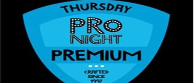 Thursday Pro Night: Premium Comedy