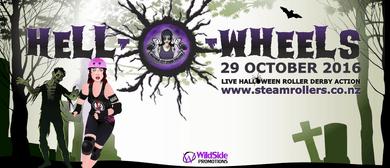 Hell-O-Wheels - Halloween Roller Derby Spooktacular
