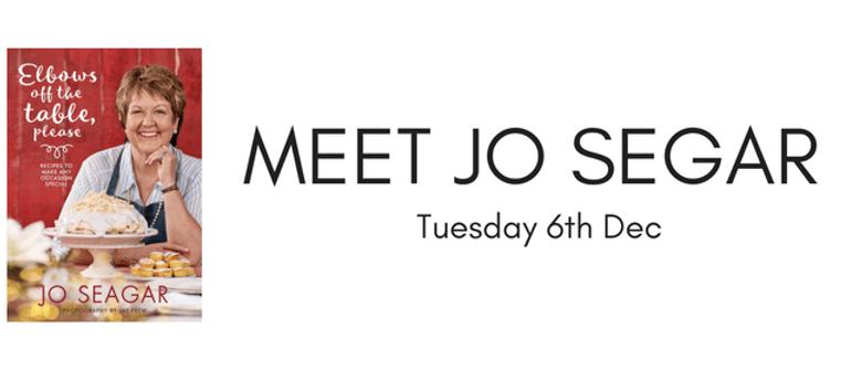Meet Jo Segar: SOLD OUT