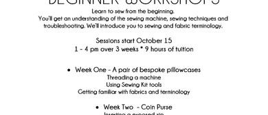 Creation Station Beginners Class