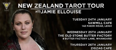 New Zealand Tarot Tour with Jamie Ellouise