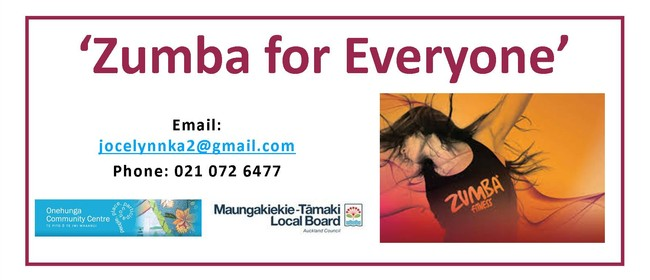 Zumba for Everyone With Jocelynn