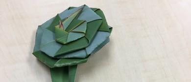 Maaori Arts and Crafts: Make Harakeke Putiputi - Flax Flower
