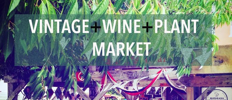 Vintage, Wine, Plant & Market