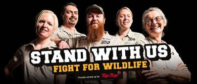 Fight for Wildlife At Auckland Zoo