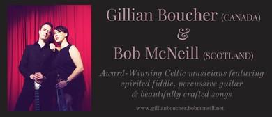 Acclaimed Folk Duo - Gillian Boucher & BobMcNeill