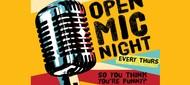 Open Mic Night - MC Brad Zimmerman