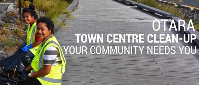 Otara Town Centre Clean-up