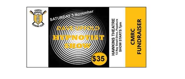 CMRC Fundraiser - Dave Upfold Hynotist Show