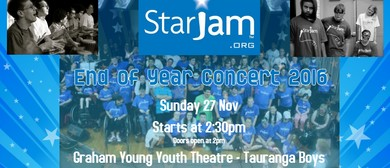 StarJam Tauranga End of Year Concert