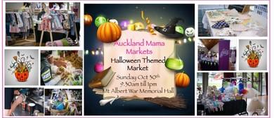 Halloween At Auckland Mama Markets
