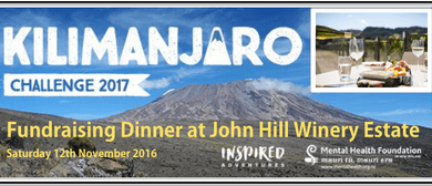 Mt Kilimanjaro Degustation Fundraising Dinner
