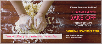 Le Grand French Bake-Off - French Pie Baking Competition